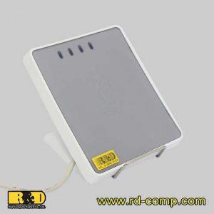 เครื่องอ่านบัตร RFID และแท็ก NFC พร้อมช่องใส่ SAM รุ่น uTrust4711FB
