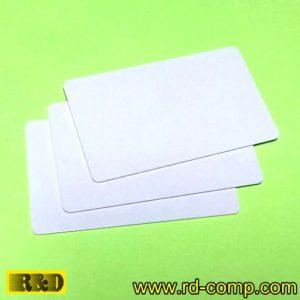 บัตรสมาร์ตคาร์ดขาว ชิป MIFARE Ultralight C (NFC Type 2) รุ่น C2W-UC (แพ็ค 3 ใบ)