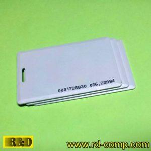 บัตรแตะแบบหนา RFID 125KHz Clamshell Proximity Card รุ่น CLI-T18 (แพ็ค 3 ใบ)