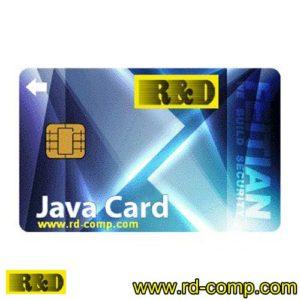 บัตรสมาร์ตคาร์ดแบบจาวา พร้อม Java Card Operating System รุ่น FT-Java