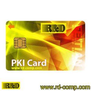 บัตรสมาร์ตคาร์ดแบบ PKI รุ่น FT-PKI