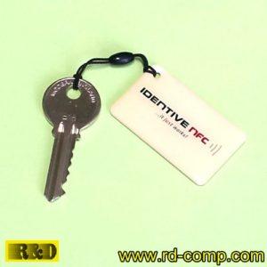 พวงกุญแจอีพ็อกซี NFC Type 2 ลาย Identive NFC Smartag รุ่น TK2R-IDT