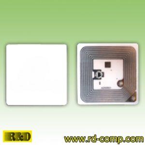 ป้ายผนึกขาวจตุรัส NFC Type 1 ขนาด 43x43mm รุ่น TL1S43 (แพ็ค 3 ดวง)
