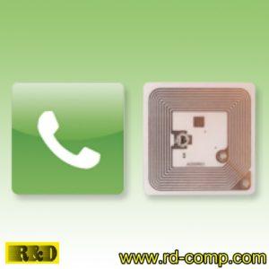 สติกเกอร์ NFC Type 1 รูปหูโทรศัพท์ รุ่น TS1S-Call