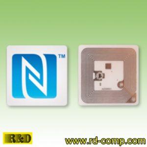 สติกเกอร์ NFC Type 1 รูปโลโก้ N-Mark รุ่น TS1S-NMark