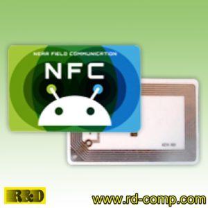 สติกเกอร์ NFC Type 4 รูปหุ่น Android รุ่น TS4R-And (แพ็ค 3 ดวง)