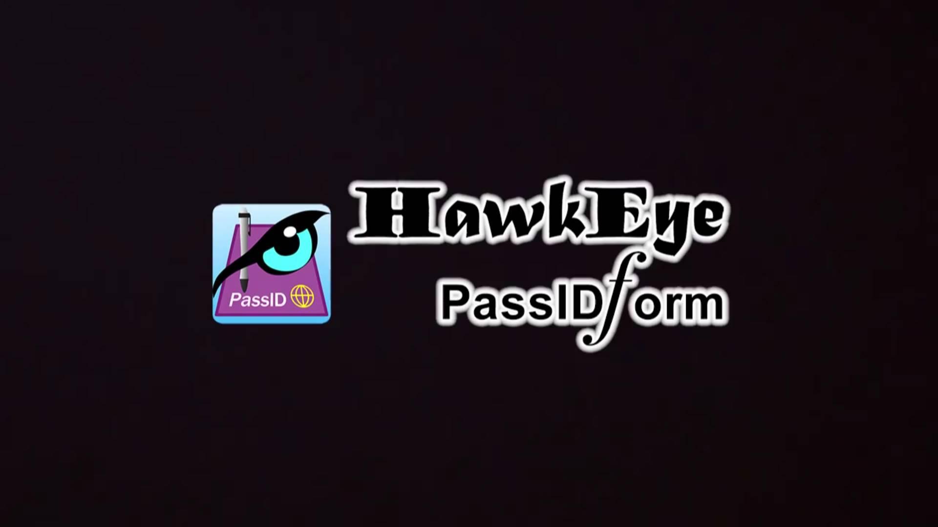 HawkEye PassIDform