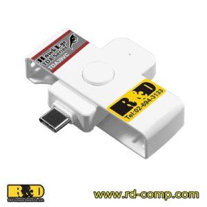 ชุดพัฒนาซอฟต์แวร์อ่านบัตรประชาชนบนระบบ Android พอร์ต USB Type-C ไม่ใช้ License File รุ่น TDA39VC