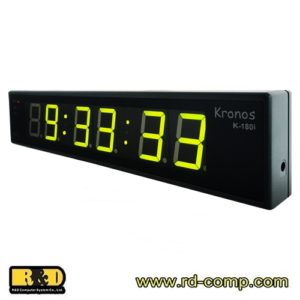 นาฬิกาเวลามาตรฐาน Kronos Internet Standard Time Digital Clock รุ่น K-180i